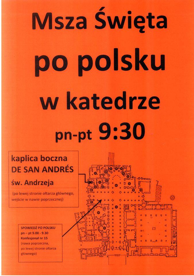 Msza Święta po polsku